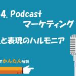 54.Podcastマーケティング/星と表現のハルモニア