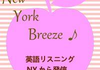 New York Breeze ! -英語リスニングNYから発信-